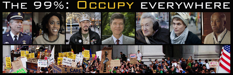 The 99 Percent: Occupy Everywhere